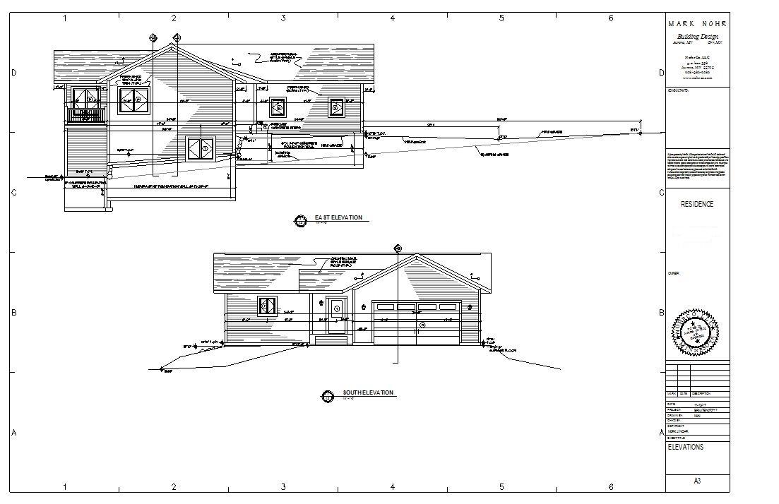 Typical Plan Set Hvac Drawing Plans A3