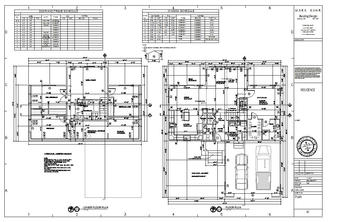 Typical Plan Set Hvac Drawings Pictures A1 Plans